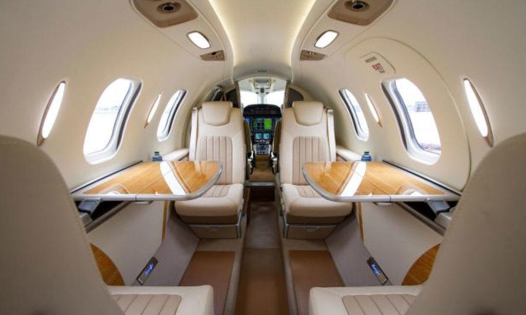 VIH Execujet's Honda Jet Interior