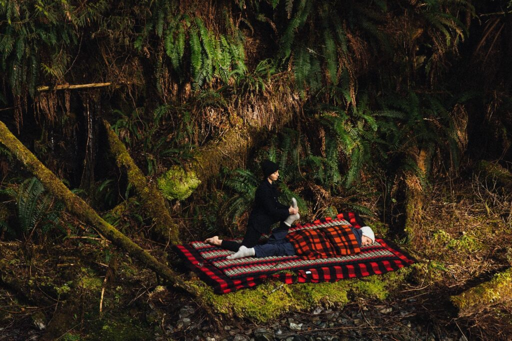 Meditation in the wilderness