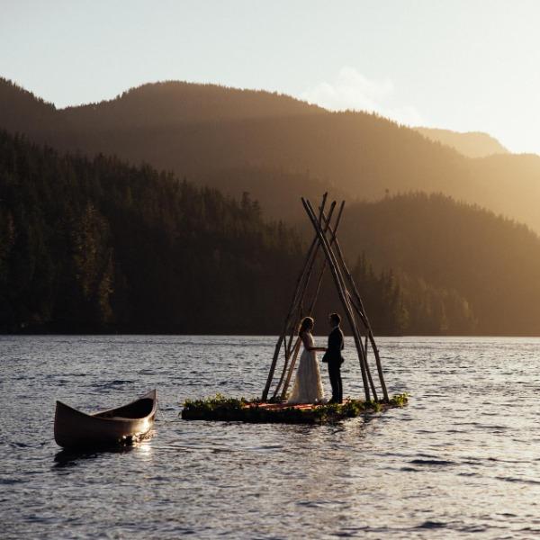 Wild Wedding Nimmo Bay